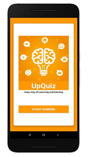 Best Money Earning App 2019 – UpQuiz Earn 100 ss 1