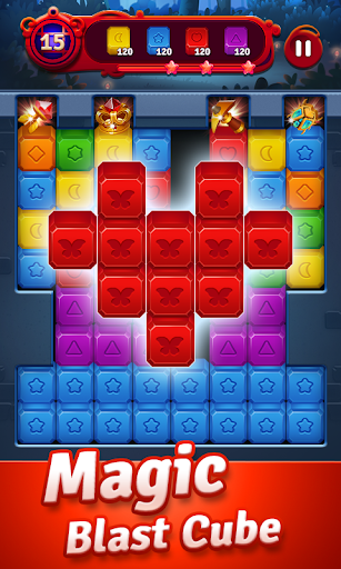 Magic Blast – Cube Puzzle Game ss 1