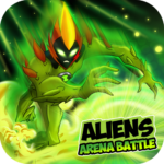 Aliens Arena: Mega Alien War Transform APK