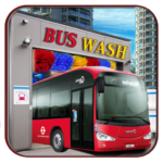 Bus Wash Simulator Service, Tuning Bus games APK