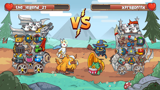 CatnRobot Idle Defense -Cute Castle TD PVP Game ss 1