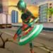 Flying Superhero Robot Captain Girl:US Lady Fight APK