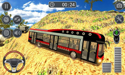 Hill Bus Climbing Sim 2019 – Offroad Bus Driving ss 1