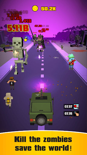 Idle Convoy VS Zombies Incremental ss 1