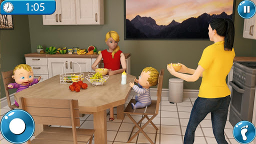 Real Mother Simulator 3D New Baby Simulator Games ss 1
