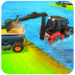 Sand Excavator Simulator: Water Surface Crane APK