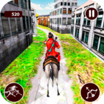 Street Horse Archer run – Dungeon Archer Escape APK