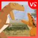 T-Rex Fights Allosaurus APK