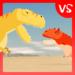 T-Rex Fights Carnotaurus APK