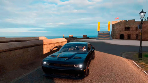 USA Dodge Drifting in City Muscle Car Simulator ss 1
