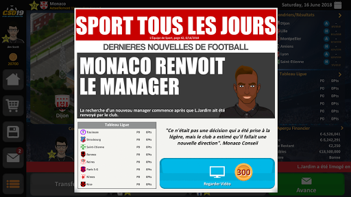 Club Soccer Director 2019 – Football Club Manager ss 1