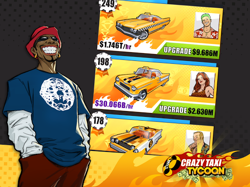 Crazy Taxi Idle Tycoon ss 1