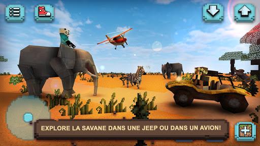 Safari Savane Animaux Carrs ss 1