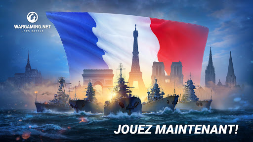 World Of Warship Blitz Jeu de Bataille Navale ss 1
