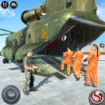 OffRoad US Army Helicopter Prisoner Transport Game APK