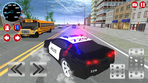 Real Police Car Driving Simulator 3D ss 1