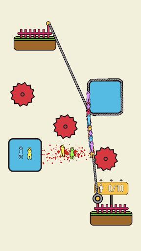 Rope Rescue – Unique Puzzle ss 1