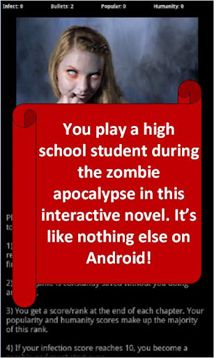 Zombie High Choices Game RPG ss 1