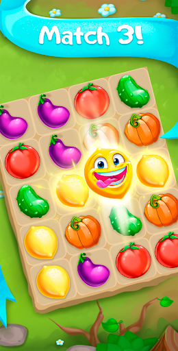 Funny Farm match 3 Puzzle game ss 1