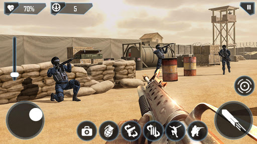 Modern FPS Combat Mission – Counter Terrorist Game ss 1