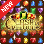 Clash of Diamonds – Match 3 Jewel Games APK