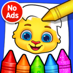 Coloring Games: Coloring Book, Painting, Glow Draw APK