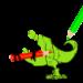 Dinosaurs Coloring Game APK