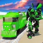 Euro Train Transformation Robot: Train Simulator APK