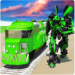 Euro Train Transformation Robot: Train Simulator APK
