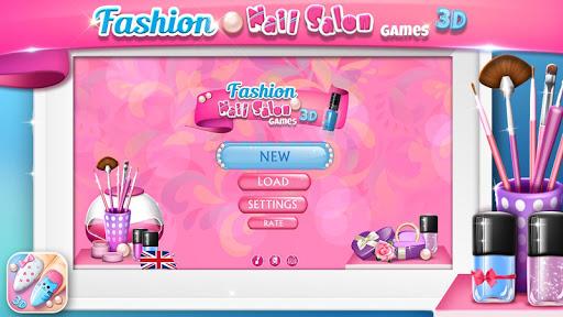 Fashion Nail Salon Games 3D ss 1