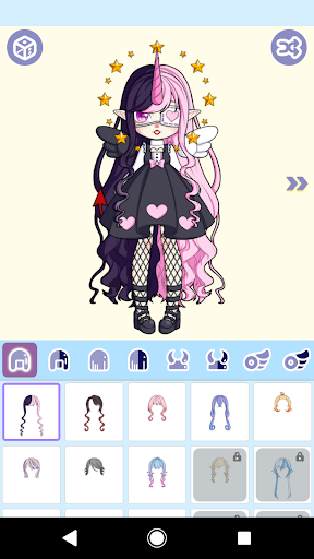 Magical Girl Dress Up Magical Monster Avatar ss 1