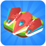 Merge Spaceship – Click and Idle Merge Game APK