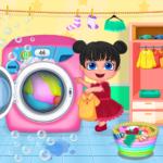 Mom Baby Clothes Washing Laundry APK