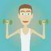 Muscle clicker: Gym game APK