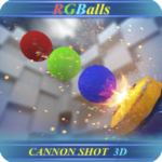 RGBalls – Cannon Fire : Shooting ball game 3D APK