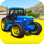 Superheroes Animal Transport (Farm Tractor) APK