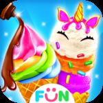 Unicorn Ice Cream Cone – Cone Dessert Maker APK