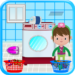 Washing and Ironing Clothes: Kids Laundry Game APK
