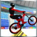 superhero BMX bicycle stunts track APK