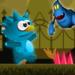 Blue monster adventure APK