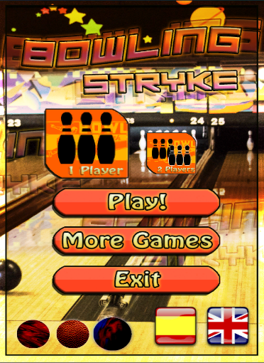 Bowling Stryke – Offline 2 Players Free Game ss 1