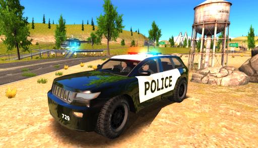 Crime City Police Car Driver ss 1