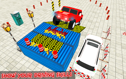 Hummer Voiture Parking 3D Parking Jeux ss 1