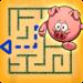 Little Pig Maze – Kids puzzle Educational game APK