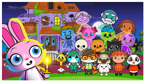 Main Street Pets Haunted Village – Ghost Town ss 1