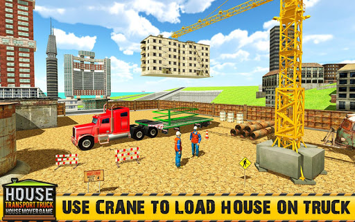 Mobile Home Transporter Truck House Mover Games ss 1