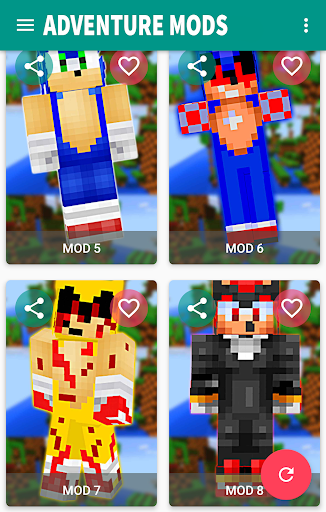 New SONIC Boom mod skins for mcpe ss 1