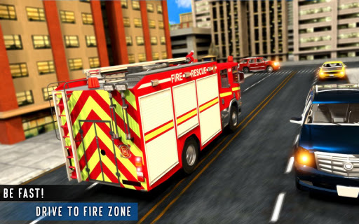 Real FireFighter Truck Emergency Rescue Heroes ss 1