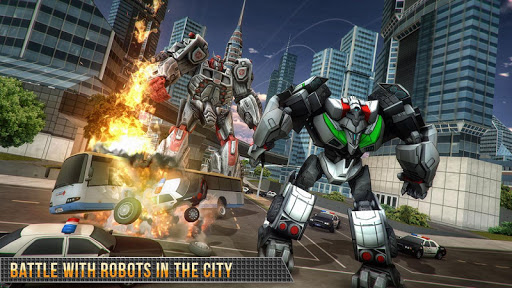 Real Gangster Robot Car Transform Game 2020 ss 1