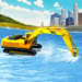 River Sand Excavator Simulator: Crane Game APK